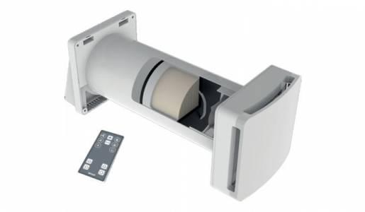 intercambiador de aire para humedad ascendente